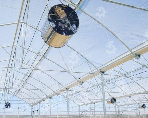 ویژگی های فن سیرکوله سقفی